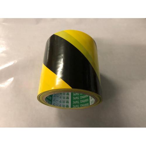 Чёрно-жёлтая SM Chemie 3103 Лента напольная разметочная для разметки пола