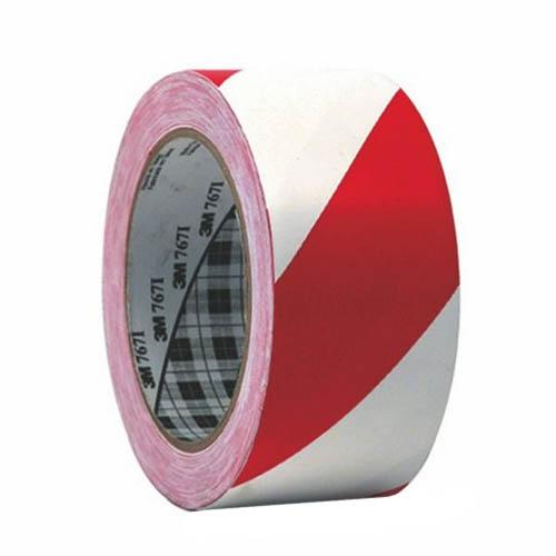 3M 767I сигнальная клейкая лента красно-белая, для маркировки и разметки