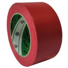 Лента напольная разметочная для разметки пола Globe 2535, красная