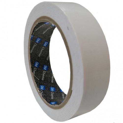 WF11 SM Сhemie, лента двухсторонняя клейкая,  повышенной прочности, 50м, толщ. 1,1мм, цвет белый