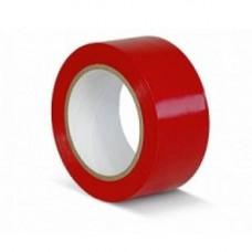 Лента для разметки пола, красная.