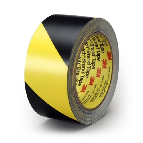 Сигнальная лента скотч 3м односторонний 5702 для разметки пола