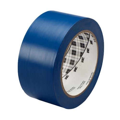 Лента скотч 3м односторонний 471 синяя для разметки пола