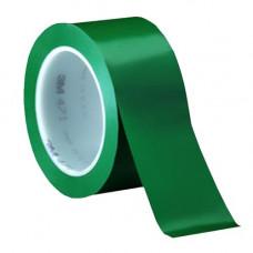 3м 471 зеленая - лента скотч для разметки пола.