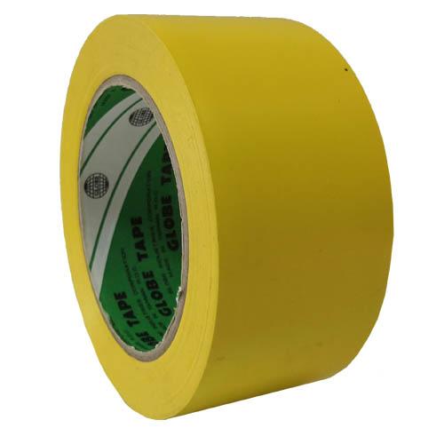 Лента напольная разметочная для разметки пола Globe 2535, желтая